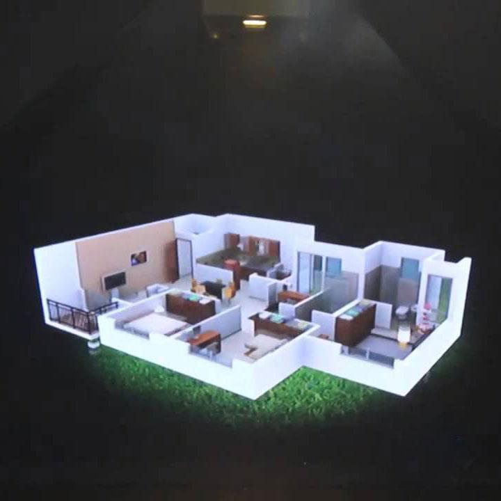 3D Hologram Real Estate model